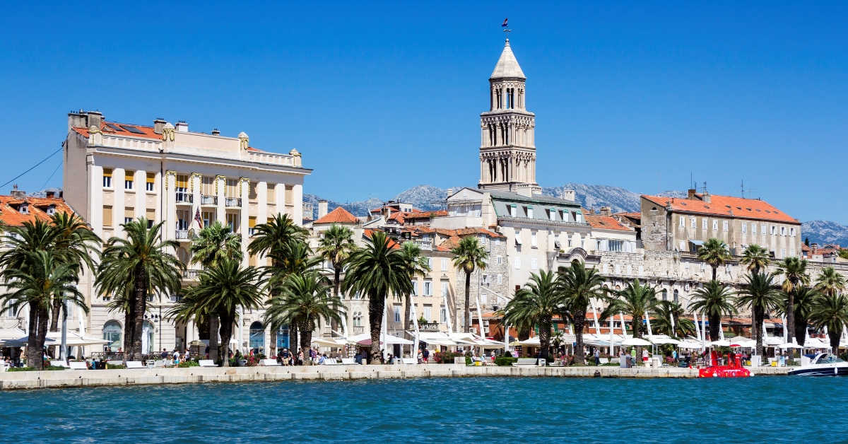 Split - sightseeing and shopping